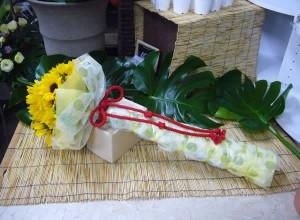向日葵の花束 10-06-06-3