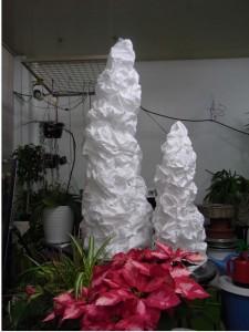樹氷風ディスプレイ