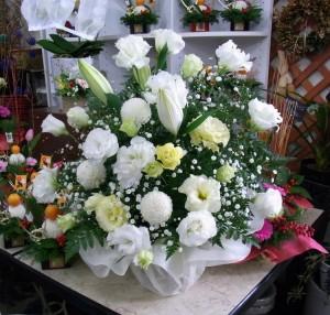 命日のお供えのお花