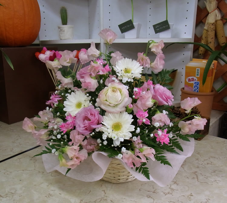 命日にお供えのお花