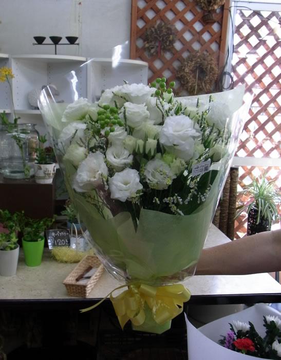 白系の花束