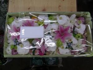 納棺用のお花