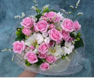 ブーケトス用の花束