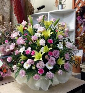 四十九日のお花
