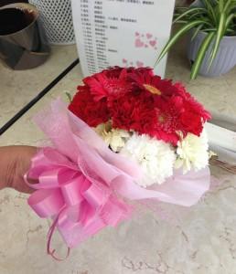 ハートの花束
